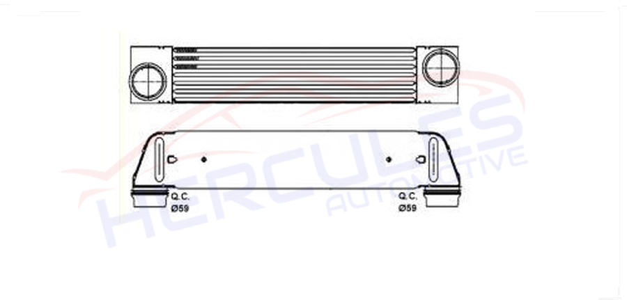 INTERCOOLER 17517787446