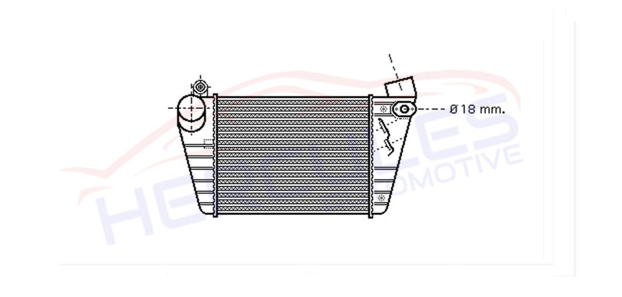 INTERCOOLER 1J0145803F/G